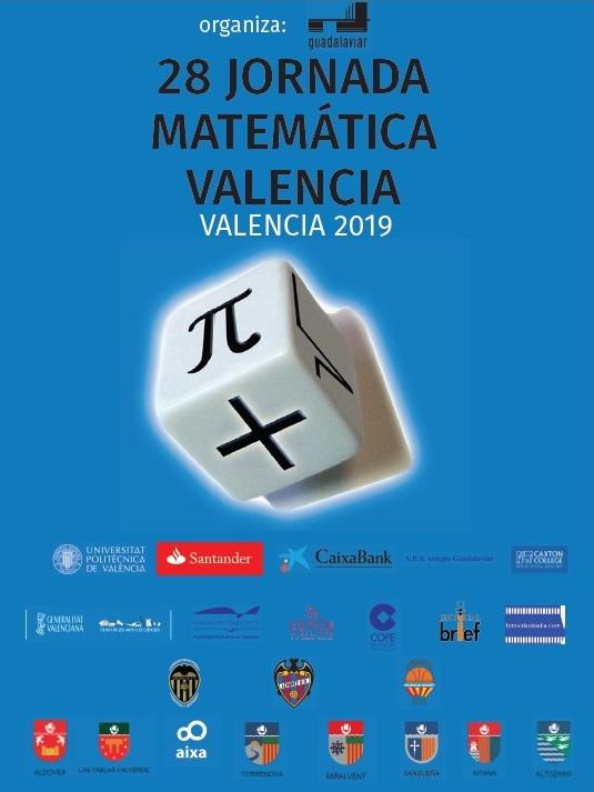En marcha la 1ª Fase de la 28 edición de la Jornada Matemática Valencia