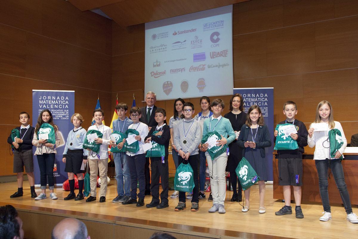 Premios de la XXVIII edición de la Jornada Matemática Valencia