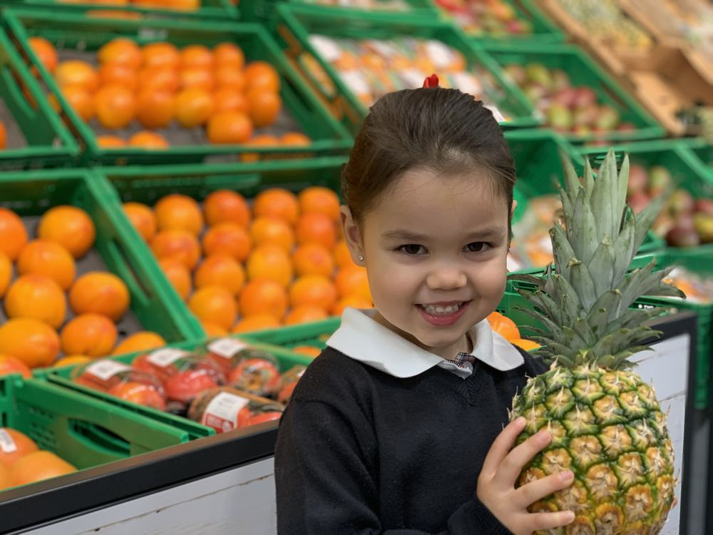 Finding out healthy diet in Early Years
