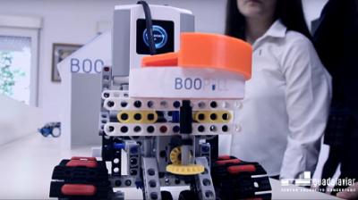 Boopill el robot asistente creado por las alumnas de 2º de la ESO