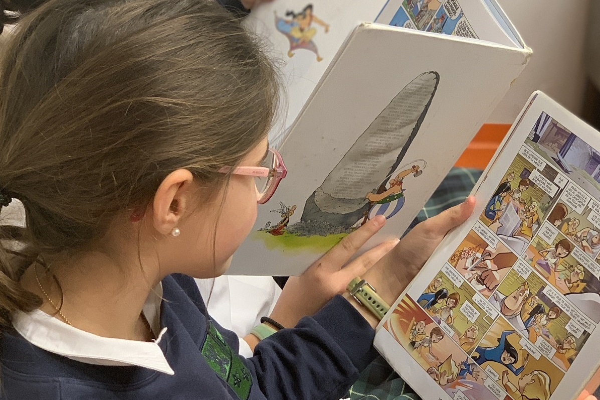 El mundo del cómic, en nuestra Biblioteca