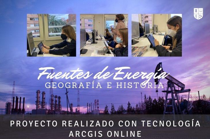 Fuentes de energía con ArcGis on line